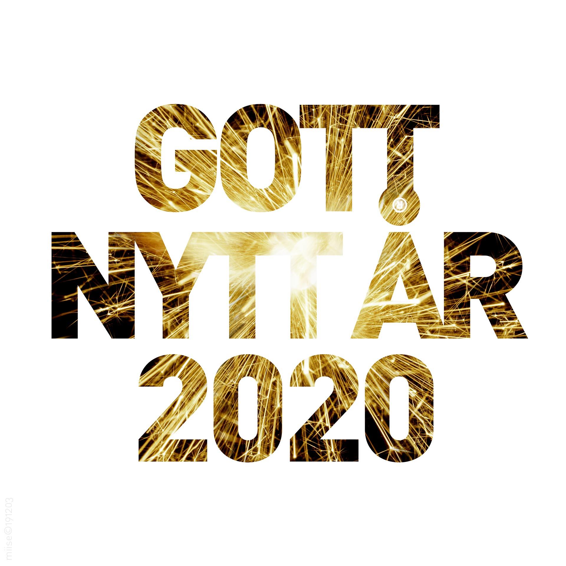 Gott nytt år 2020